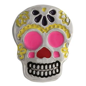 Picture of Colorful Sugar Skull Charm